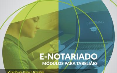 Confira o e-Book detalhado sobre os módulos da plataforma e-Notariado