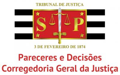 CGJ/SP suprime item das Normas de Serviço de Cartórios Extrajudiciais